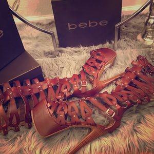Bebe Tacorda Sandal Platform Heel